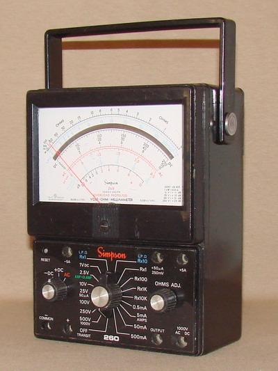 Simpson 260 6xlpm Volt Ohm Milliammeter