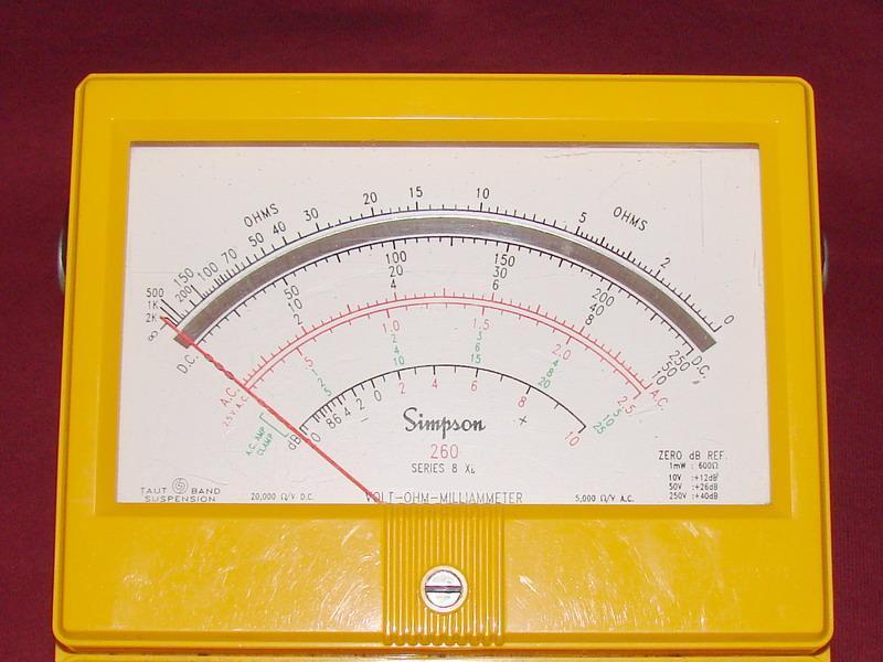 Simpson 260-8Xi - Volt - Ohm - Milliammeter on simpson analog multimeter schematic, maytag performa schematic, simpson analog meter, kenmore electric dryer schematic, simpson meter schematics, current shunt schematic, simpson current shunt, digital multimeter schematic, simpson 5 series schematic, ohm meter schematic,